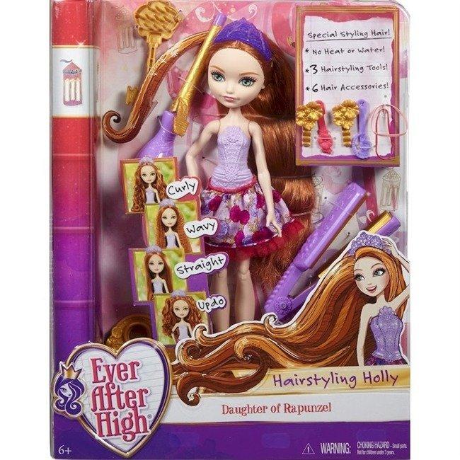 Mattel Ever After High Bajeczne Fryzury Lalka Holly