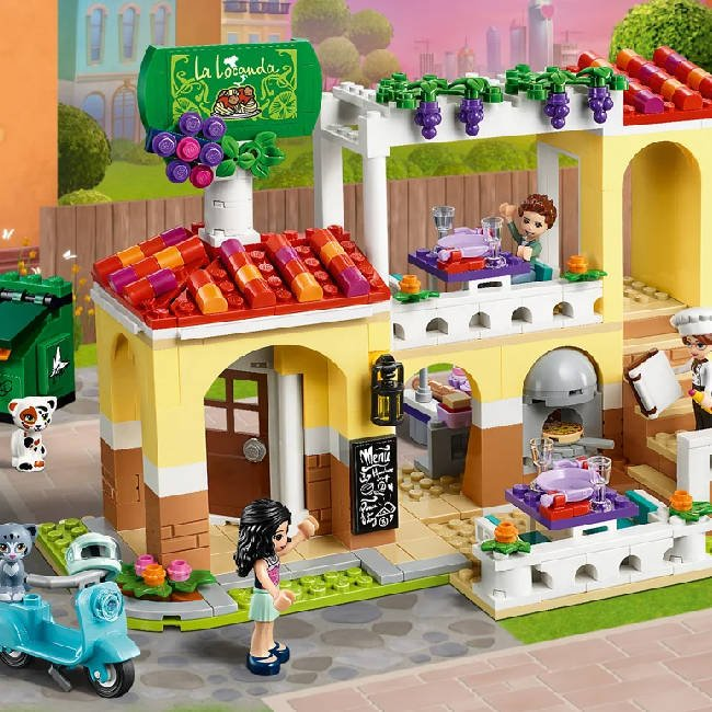 Lego Friends Klocki Restauracja w Heartlake