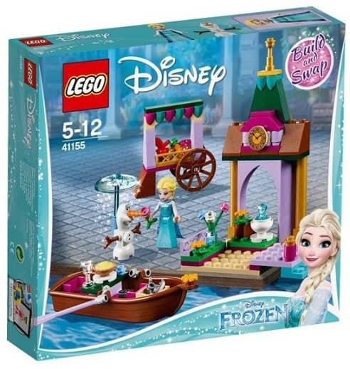 Lego Disney Frozen Kraina Lodu Klocki Przygoda Elzy Na Targu 125 el.
