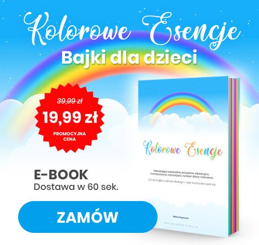 bajki dla dzieci - e-book - kolorowe esencje