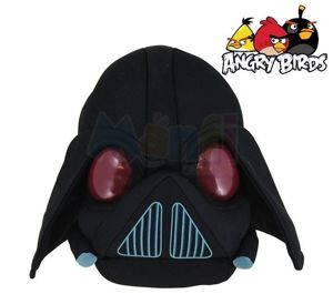 ANGRY BIRDS MASKOTKA LORD VADER STAR WARS 21cm