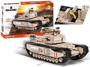COBI KLOCKI WORLD OF TANKS CHURCHILL I 530EL