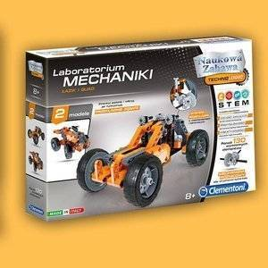 Clementoni Laboratoriurm Mechaniki Łazik i Quad