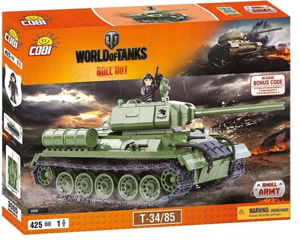 Cobi Mała Armia World Of Tanks Klocki T-34/85 425 el.
