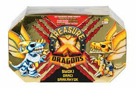 Cobi Treasure X Dragons Gold - Figurka Smok 1pak Seria 2