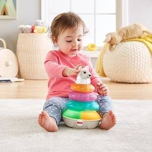 Fisher Price Linkimals Interaktywna Lama Piramidka