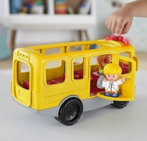 Fisher Price Little People Interaktywny Autobus Małego Odkrywcy