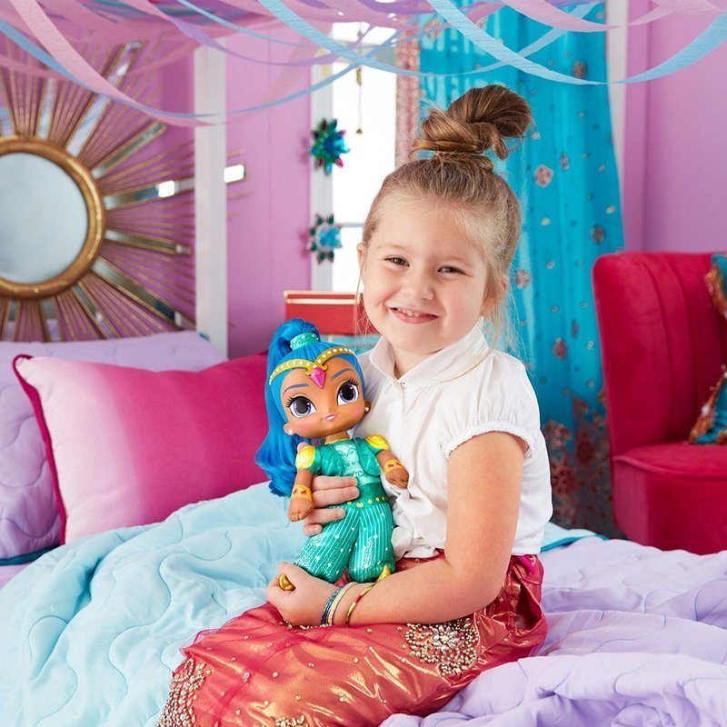 Fisher Price Shimmer i Shine Interaktywna Lalka - Shine 30 cm