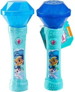 Fisher Price Shimmer i Shine Interaktywny Mikrofon - Niebieski Shine