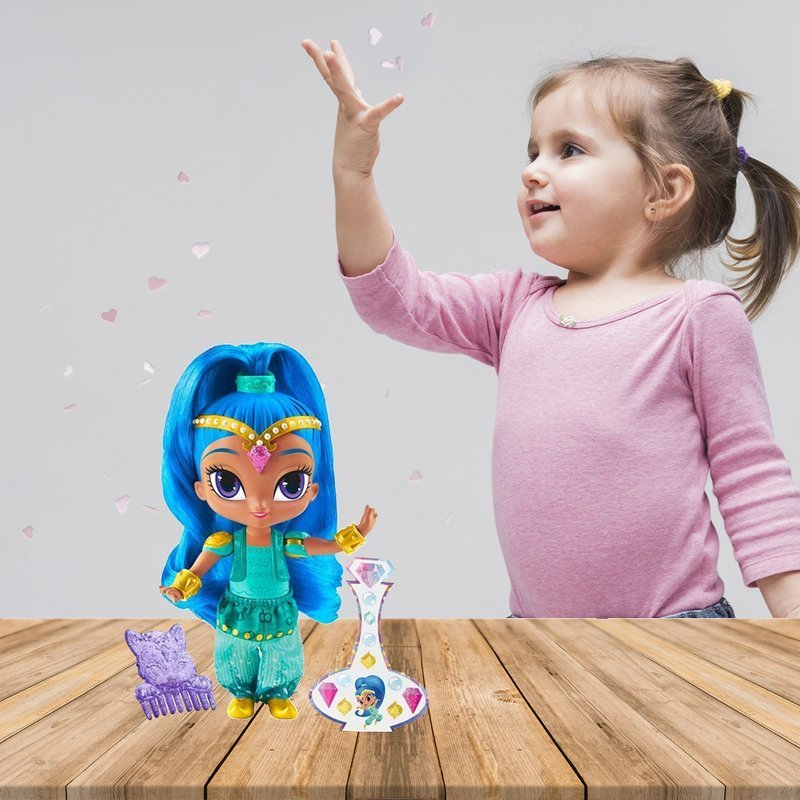 Fisher Price Shimmer i Shine Lalka 15 cm - Shine