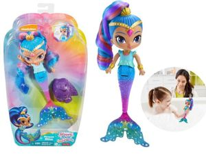 Fisher Price Shimmer i Shine Lalka Do Kąpieli Shine