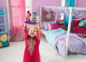 Fisher Price Shimmer i Shine Magiczny Dywan + 2 Lalki