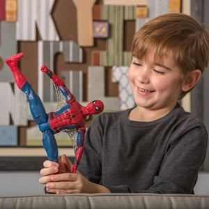 Hasbri Marvel Homecoming Figurka Spiderman Język Francuski 30cm