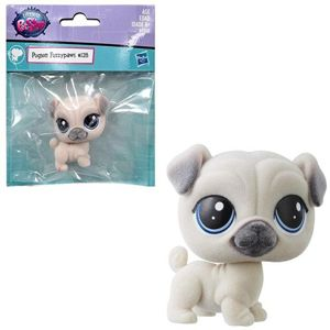 Hasbro Littlest Pet Shop Figurka Mops - Pugson Fuzzypaws