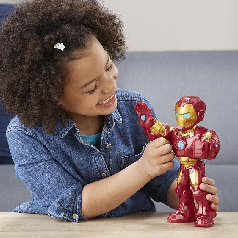 Hasbro Marvel Super Hero Adventures - Mega Mighties Figurka 25 cm Iron Man