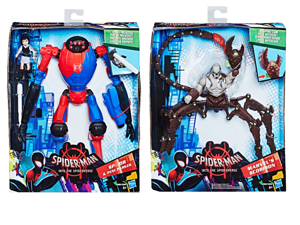 Hasbro Spiderman Movie The Spider-Verse  Figurka Deluxe 15cm - Zestaw SP/DR i Peni Parker lub Zestaw Marvel's Skorpion