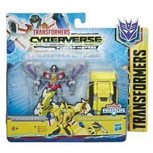 Hasbro Transformers Cyberverse Spark Armor - Battle Class Starscream Demolition Destroyer