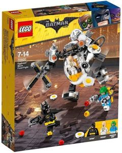 Lego The Batman Movie Mech Eggheada i Bitwa Na Jedzenie 293 el.