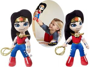 MATTEL DC SUPER HERO GIRLS MINI PRZYTULANKA - WONDER WOMAN