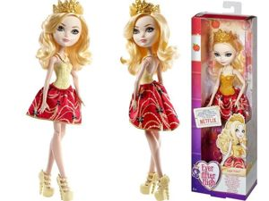 MATTEL EVER AFTER HIGH LALKA APPLE WHITE