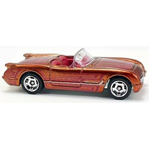 MATTEL HOT WHEELS COOL CLASSICS - AUTKO KOLEKCJONERSKIE CORVETTE 1955