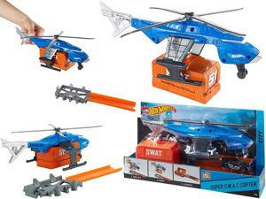 MATTEL HOT WHEELS HELIKOPTER S.W.A.T. + AUTKO