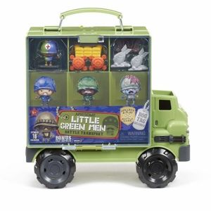 MGA Awesome Little Green Men Pojazd Wojskowy Battle Transport + Figurka