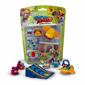 MagicBox SuperZings Rivals of Kaboom 5 figurek + Superramp + Superslider 5pak Seria 3