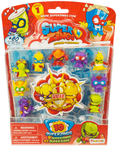 MagicBox SuperZings Rivals of Kaboom Zestaw 10 Figurek Seria 1