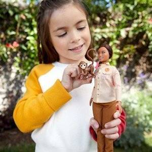 Mattel Barbie National Geographic Lalka - Ekolog