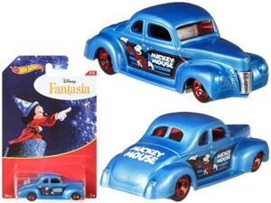 Mattel Hot Wheels Disney Myszka Miki Pojazd Autko - Ford Coupe