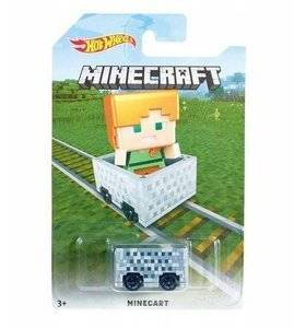 Mattel Hot Wheels Minecraft Autko Pojazd - Zombie