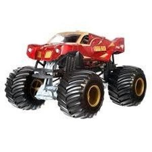 Mattel Hot Wheels Monster Jam Pojazd IRONMAN