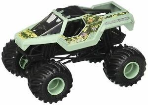 Mattel Hot Wheels Monster Jam Pojazd SOLDIER FORTUNE