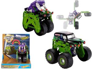 Mattel Hot Wheels Monster Jam Pojazd Transformujący - Grave Digger
