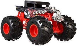 Mattel Hot Wheels Monster Trucks Pojazd Bone Shaker