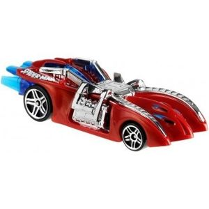 Mattel Hot Wheels Pojazd Spiderman Arachnordo 1:64