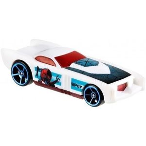 Mattel Hot Wheels Pojazd Spiderman The Govner White 1:64
