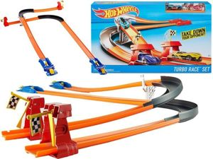 Mattel Hot Wheels Tor Wyścigowy Turbo Race
