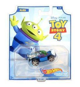 Mattel Hot Wheels Toy Story 4 Autko - Alien