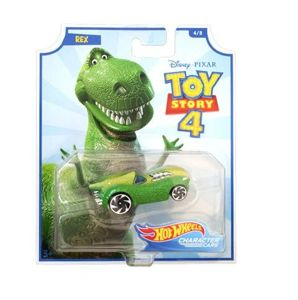 Mattel Hot Wheels Toy Story 4 Autko - Rex