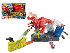 Mattel Hot Wheels Zestaw Atak T-Rexa