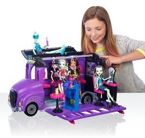 Mattel Monster High Autobus Deluxe 2w1 Dla Lalek
