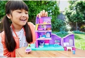 Mattel Polly Pocket Domek Pollyville Dla Figurek