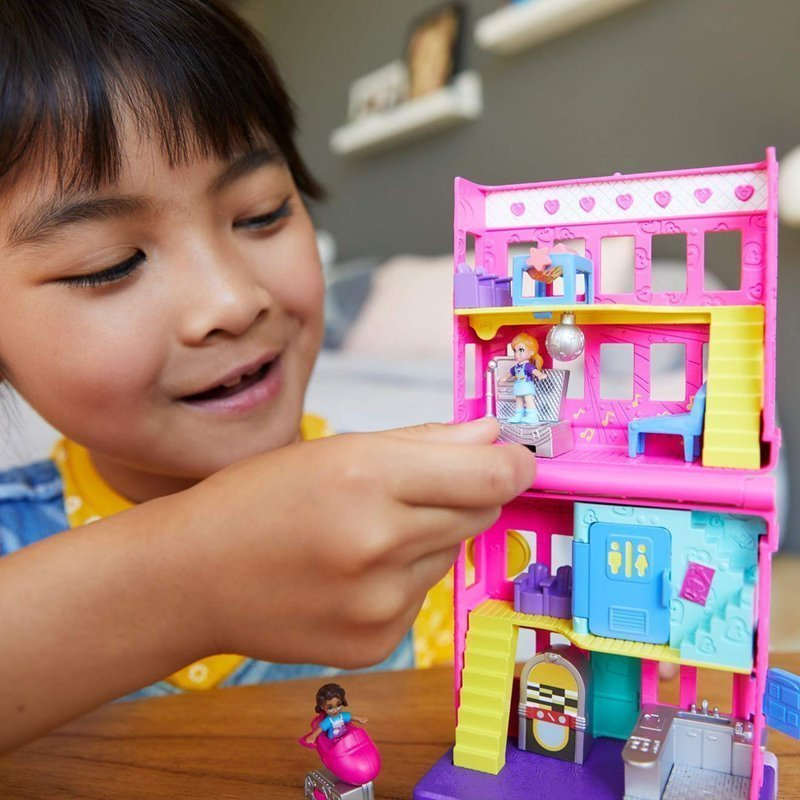 Mattel Polly Pocket Zestaw Do Zabawy Pollyville - Restauracja