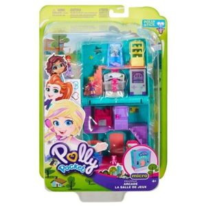 Mattel Polly Pocket Zestaw Do Zabawy Pollyville - Salon Gier