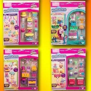 Moose Shopkins Happy Places Zestaw Dekoratora Mix Wzorów