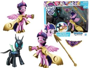 My Little Pony Guardians Of Harmony Changeling i Twilight Sparkle