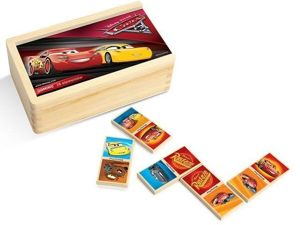 Playme Disney Cars Auta 3 Drewniane Domino 28 el.