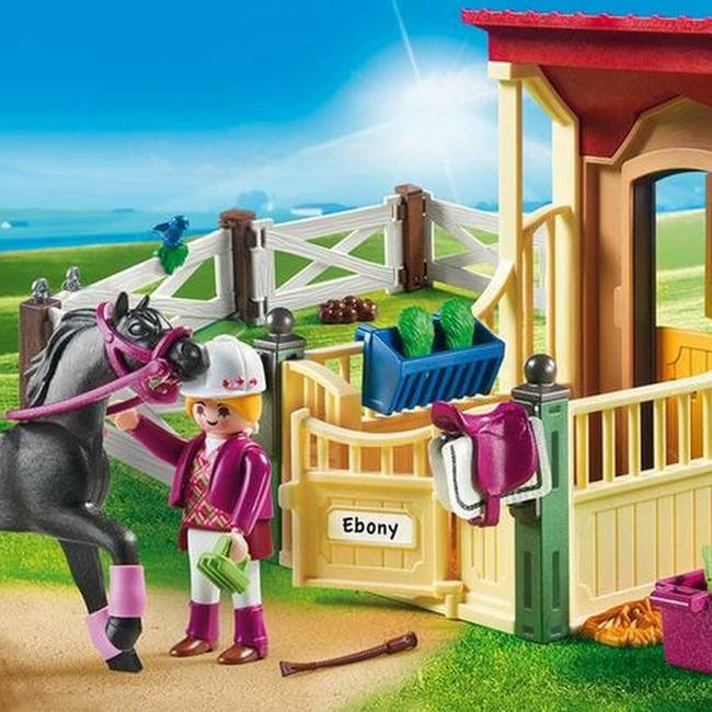 Playmobil Country Klocki Boks Stajenny Araber